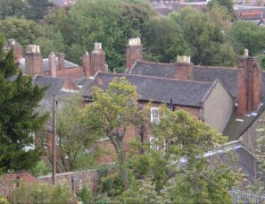 Roofscape - Staffordshire Blue clay tiles