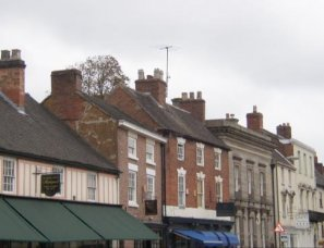 Roofscape along Church Street