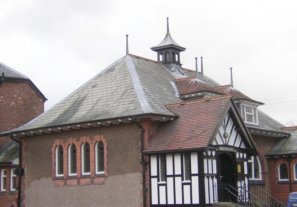 Welsh Slate roof tiles